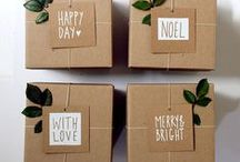 Gift Wrap / by Brittany Kirby