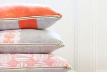 Poufs and Pillows / by Brittany Kirby