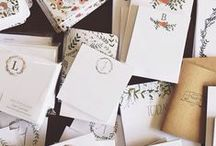 leave on a good note / stationery