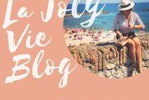 La Joly Vie / La Joly Vie is making traveling easier for moms. Online tours of amazing cities, traveling tips, and packing advice!