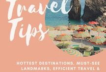 Travel Tips / Online tours of amazing cities, traveling tips, and packing advice!