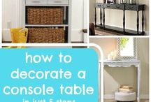 Decorating prettily: How-to, DIY / by Cath C