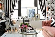 Chic Interiors / Fabulous interiors inspired by fashion / by Haute Mimi