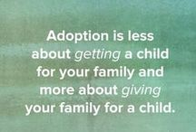 Adoption / Adoption fundraisers and blogs