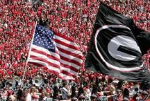 Football / The Sport of the South! Go Dawgs!  / by Alexandria Bagwell