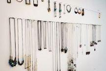 < Jewelry - Organization > / Ideas para ordenar tus joyitas en casa