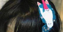 Felt n Fings - Hair Accessories / Hair accessories made with felt