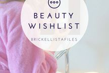 Beauty Wishlist. / All tips, and best products for: Skincare, Beauty, Hair, Makeup.
