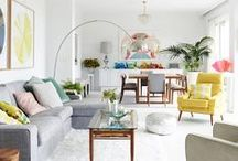 Home Decor ♣ Inspirations / beautiful, amazing, inspiring and colorful living rooms, entryways, laundry rooms... bedrooms, bathrooms, kitchens, home offices and kids rooms are in different boards :) | #home #homedecor #homedecoration #inspiration #interiordesign