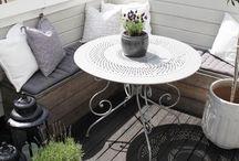 Home Decor ♣ Garden or Balcony / creative ideas for garden, balcony or porches | #home #homedecor #homedecoration #outdoordesign #outdoors #inspriration #garden #balcony #terrace #porch