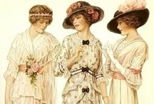 Vintage ❈ 1900-1910s / great and iconic looks of the period | #vintage #vintagefashion #edwardian #edwardianfashion #1900s #1900sfashion #1910s #1910sfashion #fashion #style #womensfashion