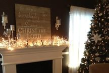 holiday decorations/ideas / by Emily Curtis