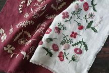 Embroidery- Sewing