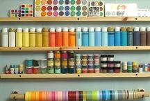 Organized crafty space