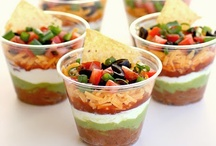 appetizers, dips, dressings, and sauces.