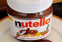 nutella goodness. / there are only two foods that deserve their very own boards - nutella and pumpkin.