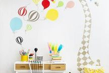 Home Decor ♣ Little One's Kingdom / Stylish, practical and awesome home decor ideas for my future little prince and princess room | #home #homedecor #homedecoration #interiordesign #inspriration #kidsroom #nursery #kidsworld
