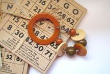 Vintage Jewelry / Fun jewelry from years gone by. My favorite vintage jewelry is Bakelite