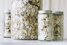 Buttons, Buttons, Buttons / Vintage buttons, supplies