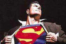 Comic Book Art - Superman & Family