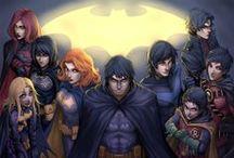 Comic Book Art - Batman & other Gothamites