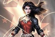 Comic Book Art - Wonder Woman