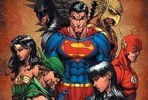 Comic Book Art - Justice League
