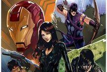 Comic Book Art - Avengers