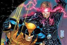 Comic Book Art - X-Teams