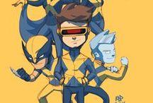 Comic Book Art - Lil' Heroes