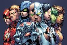 Comic Book Art - Teen Titans