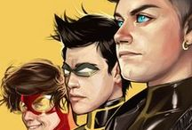 Comic Book Art - Young Justice