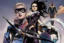Comic Book Art - Young Avengers
