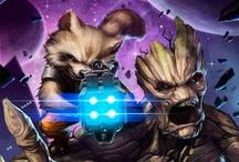 Comic Book Art - Guardians of the Galaxy