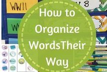 Flipping for Words Their Way / Tips on how to schedule and organize Words Their Way in an elementary classroom!