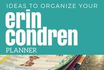 Flipping for Erin Condren / Tips to help you use, set up, and plan using an Erin Condren Teacher Planner.