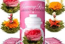 Blooming Tea Flower / Blooming Tea Flower + Balls | Flowering tea for body, mind, & soul. Lovely to look at & delightful to drink. Shop the largest hand-crafted blooming flower tea sets, tea gifts, teapots & more at https://teabloom.com/