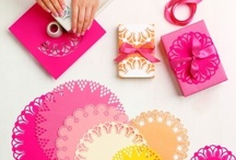 Wrap it up / Fun ideas for jazzing up your gifts.