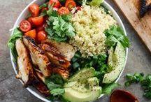 yummy healthy foods / by Angie Mysliwiec