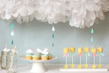 Baby Showers / Shower the mom to be with these special baby shower themes and ideas.