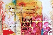 Mixed Media / Inspiring my mixed media dreams.