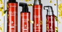 L'ANZA Healing Haircare / Enhances and defines textures.  Separates and details.