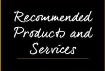 Recommended Products & Services / by Melanie Duncan