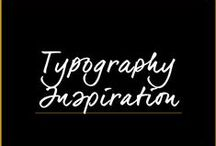 Logos, Fonts & Typography Inspiration / by Melanie Duncan