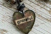 GRATITUDE essential for living / by Jheanette Velandria