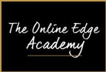 The Online Edge Academy / I am the co-founder of an incredible membership site that teaches business owners real strategies for integrating their online marketing efforts to grow their businesses online. / by Melanie Duncan