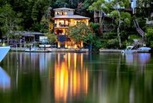 Outdoor National Award Winner 2013 & 2014 / 2014 National Outdoor Winner: The Lower Deck, Berowra Waters, NSW.  -----------------------------------------------------------   2013 National Outdoor Winner: The Evening Star Bright, Wine and High Country, VIC  Why you'll love it: Located in the picturesque Wandiligong valley. Ideal base for exploring wineries and ski fields. Range of outdoor activities including fishing, bike tracks and bushwalking. / by Stayz
