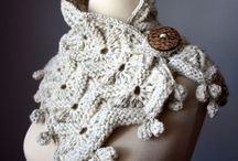 Knitted +  felted objects / Materiality, shape, form and patterns.