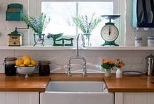 Cute Kitchens / Inspiration for all your holiday baking needs.  / by Stayz