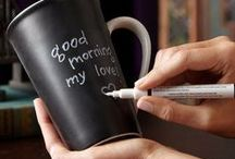 Sharpie Mugs / DIY gift mug ideas and inspiration. All you need is a coffee cup and a sharpie!